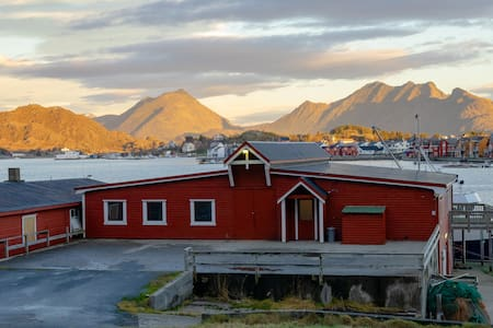 FISH FACTORY- In the middle of Lofoten
