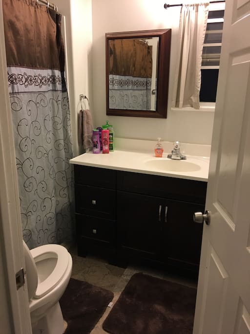 Toiletries provided