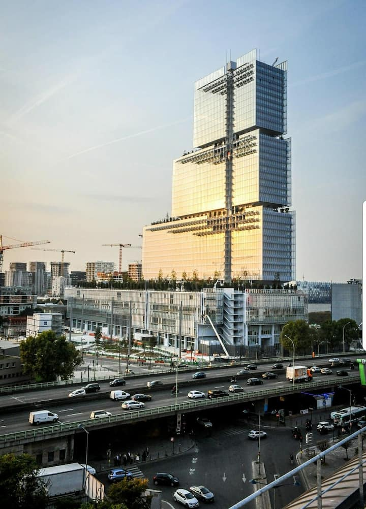 Bel appartement 2 pieces de 56 m2 Clichy-Levallois