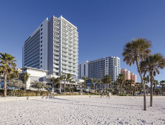 Clearwater Beach Front, Two Bedroom Deluxe Condo (A436)