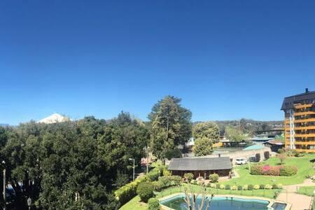 Departamento con vista al Volcán, frente al lago - Villarrica - Daire