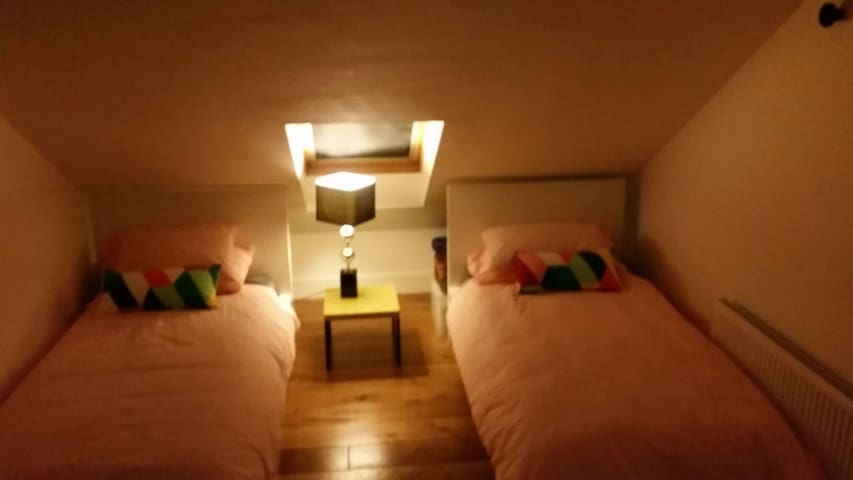 Great room for two in renovated Victorian home. - Dublin - Rumah