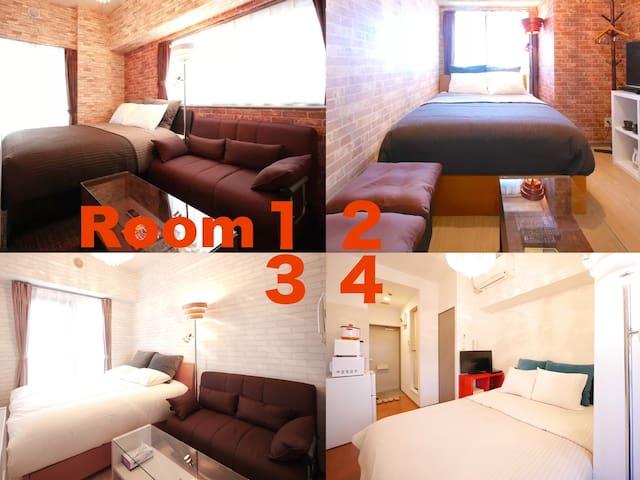 4Rooms/6beds Shibuya High-grade APT#S03 - Shibuya-ku - Appartamento