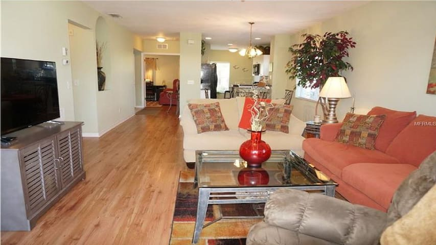Beautiful condo in a gated community with pool!
