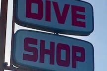 If you're a diver, you're in luck.  A dive shop is within walking distance of the condo to grab your gear or book an excursion.