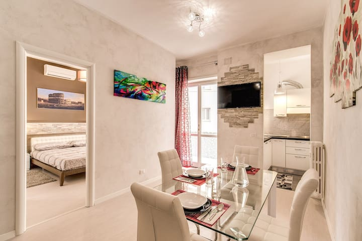 Lovely renovated flat very close to St. Peter - Rom - Wohnung