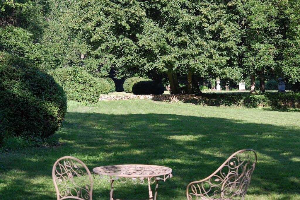 Chambre d 39 h tes au parc historique de m ridon maison d for Chambre d hotes en france