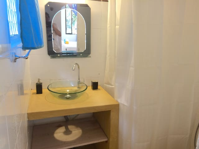 bathroom family room 1