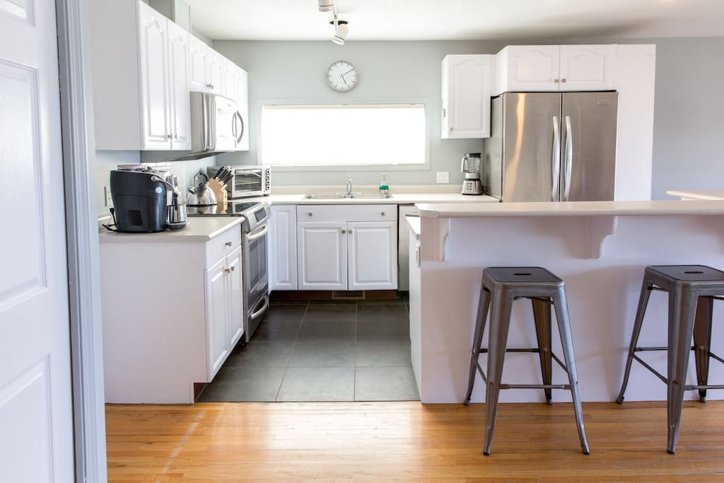 Kitchen with all equipment and amenities