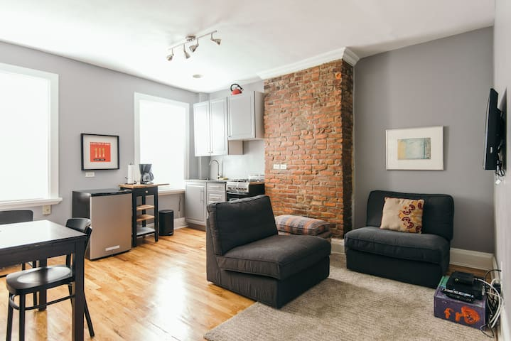 Flat in Historic Fort Greene Home