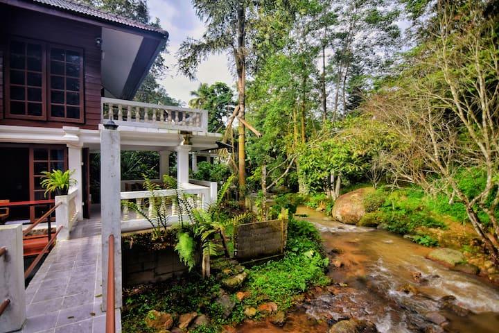 River flows Chiangmai Maekumpong