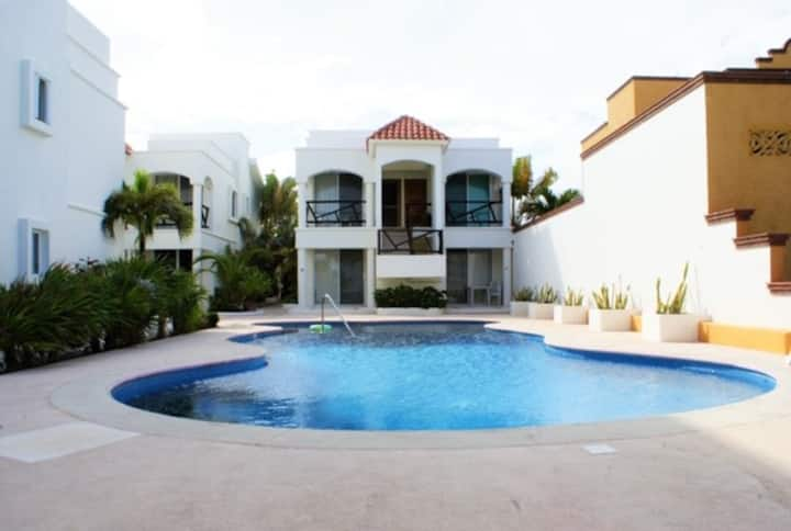 Villas arena blanca: Depto con vista al mar
