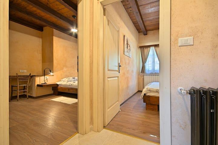 Bedroom 1 - bedroom 2