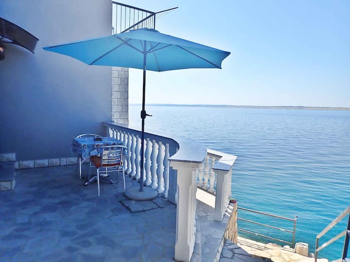 apartment for 3 persons in Barić Draga R94079