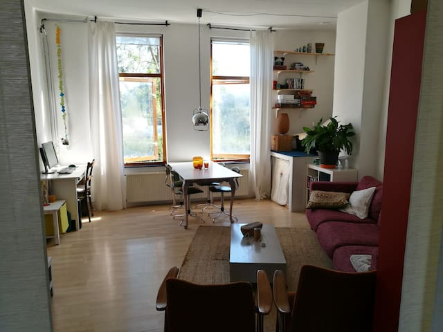 Spacious and light apartment near city centre - Utrecht - Condominium