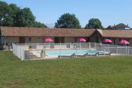 Gite Gerbera with pool and view in the Dordogne - Abjat-sur-Bandiat - Appartement