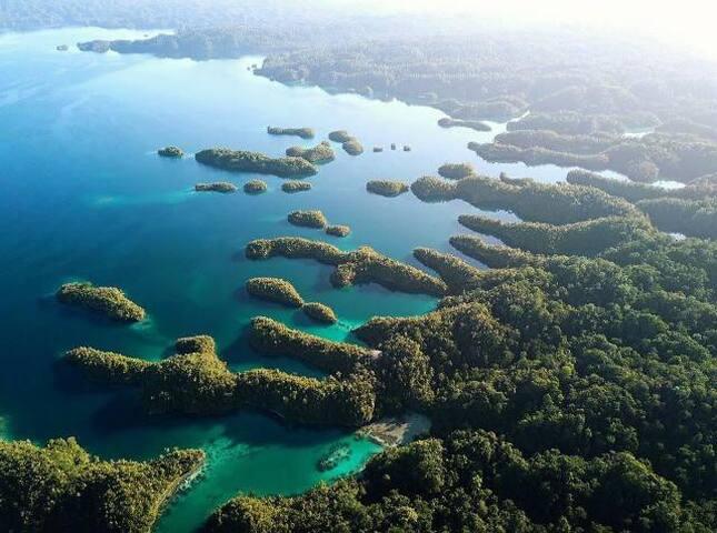 Beautiful Raja Ampat Islands