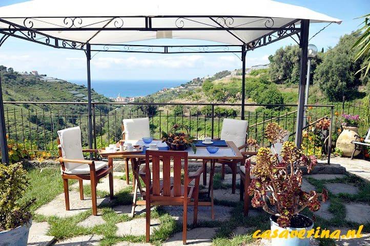 3 Appartementen met prachtig uitzicht op zee! - Pompeiana - Flat