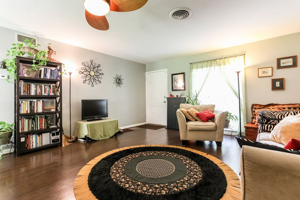 another view of open living room