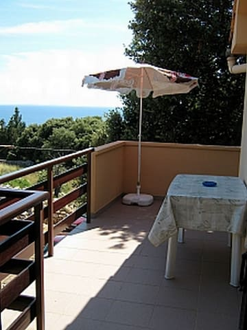 One bedroom Apartment, in Lun - island Pag, Terrace
