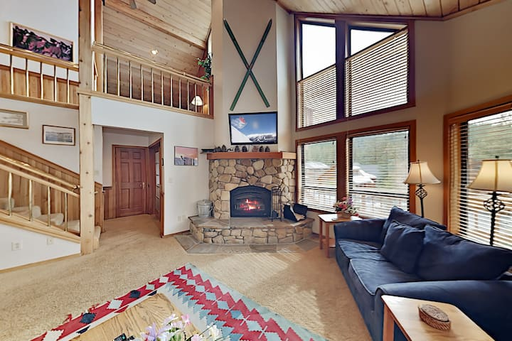 Wooded Getaway w/ 2 Living Areas & Shuttle