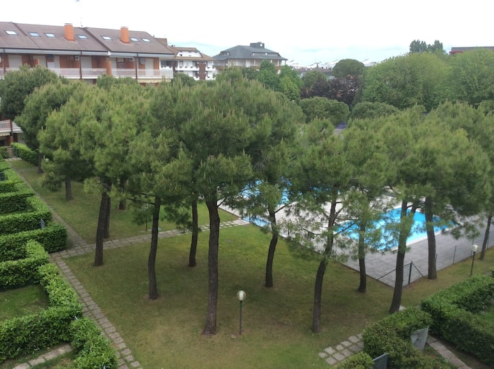 Appartamento con piscina a Lignano Sabbiadoro
