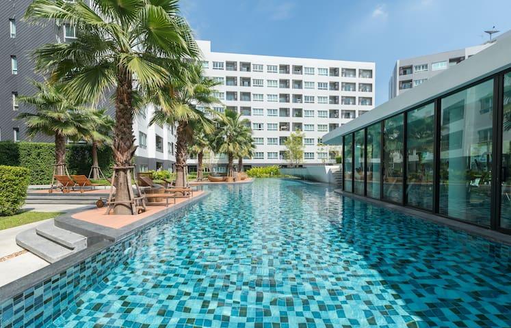 BANGKOK•BrandNewCondo•ResortStyle•BTS•Sukhumvit