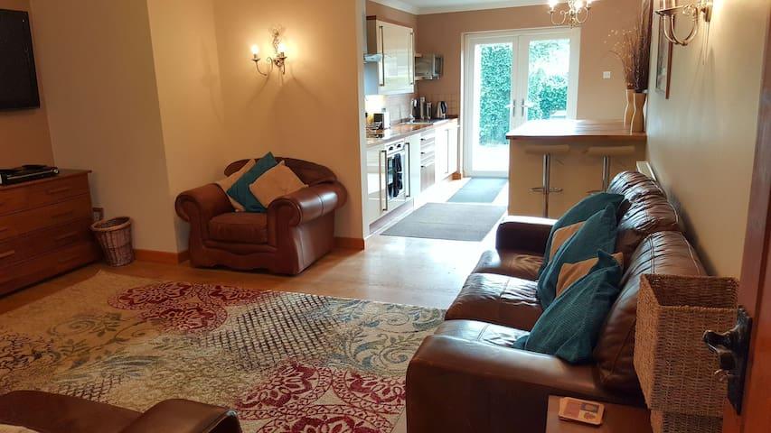 lounge & kitchen areas