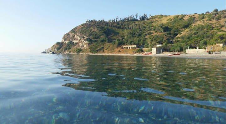 Villa sulla spiaggia di Capo Bruzzano