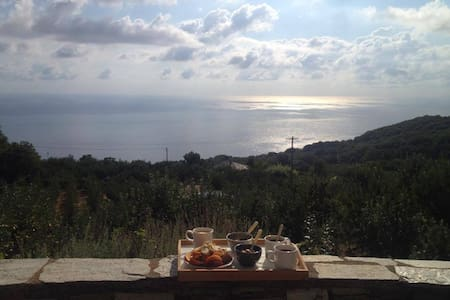 THE MOST PERFECT VIEW AT AEGEAN SEA - Pouri