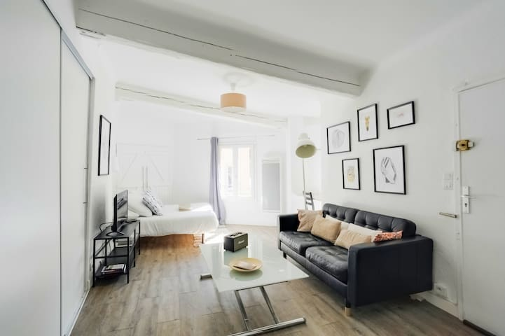 ❤ Central Studio Apartment -3min to Cours Mirabeau