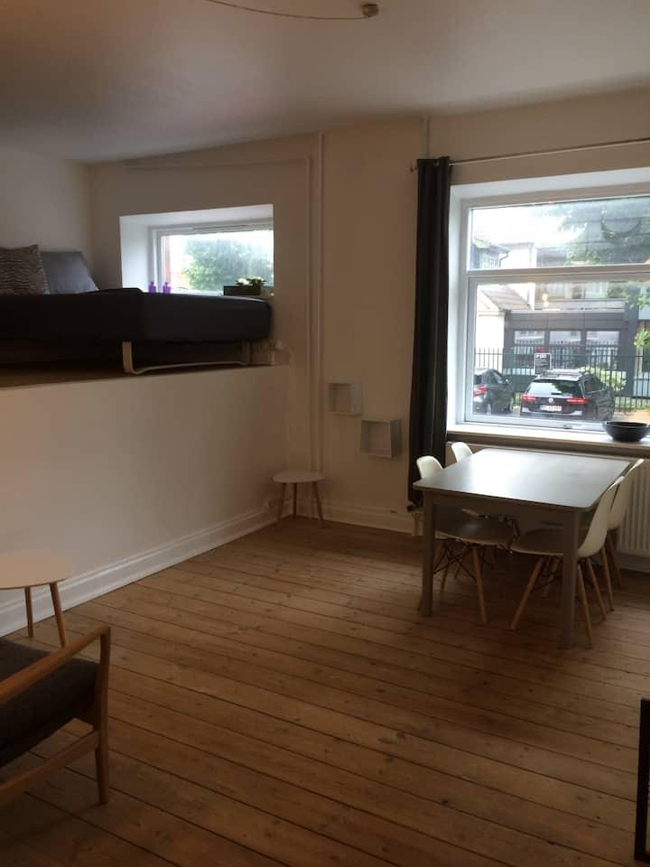 Lejlighed, centralt i Odense C