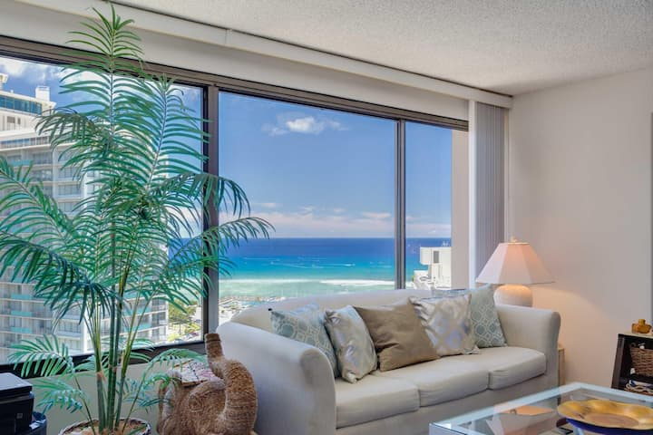 MONTHLY Discovery Bay 2409 1 Bedroom Ocean / Sunset / Marina / City Views Queen Bed & Qn Sofabed