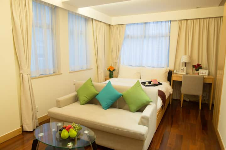 Wanchai Serviced Apartments(5 Mins to HKCEC)