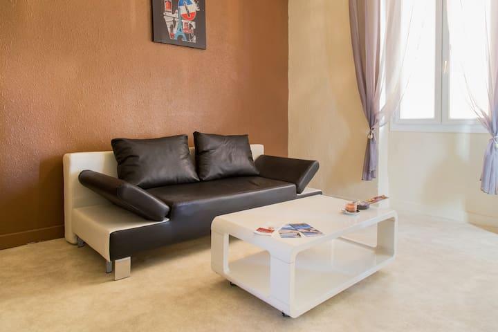 Spacieux  F2 de 50 m² idéalement situé