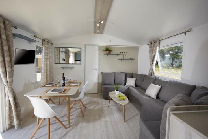 Mobil home Camping Siblu-La Tremblade-8 pers