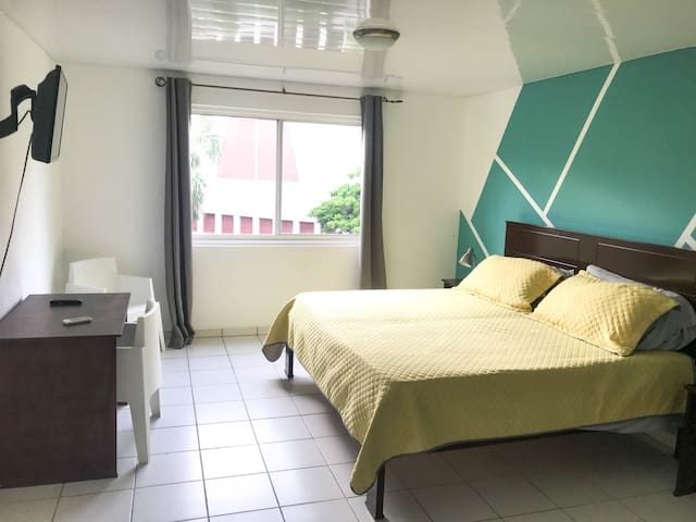 Our newly renovated modern minimalistic rooms