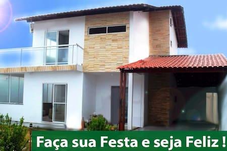 Casa de Temporada na Praia do Meio - São José de Ribamar - House