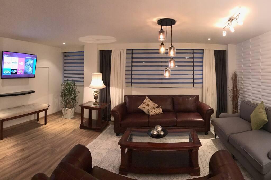 Living Room - Smart TV (50 Inch)