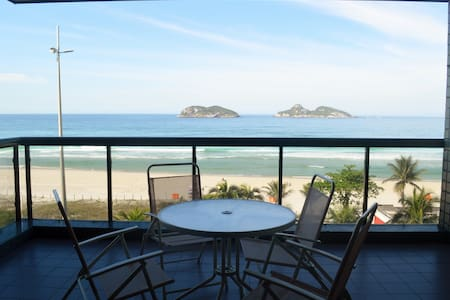 Spacious 3Bdr Oceanfront Apartment Barra da Tijuca