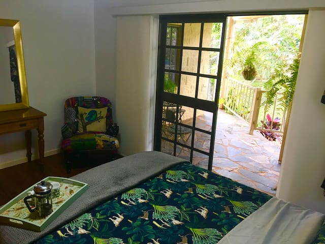 Enjoy a well deserved lie in with the doors opening onto your own private bedroom patio