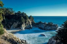 McWay Falls, 33 miles from the house