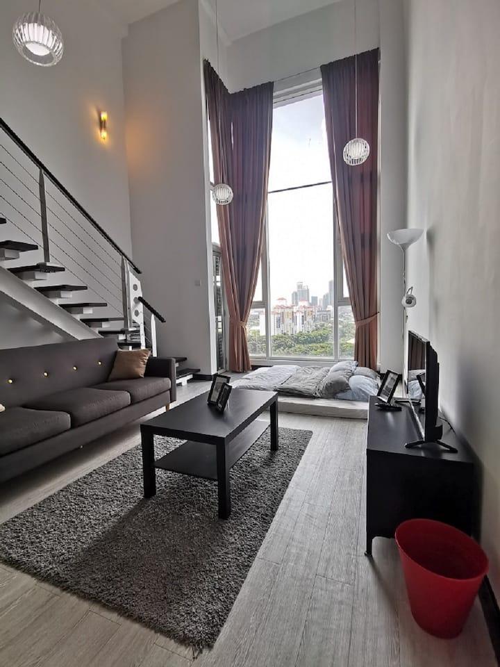 Best Stay in Premium Loft @ Scott Garden