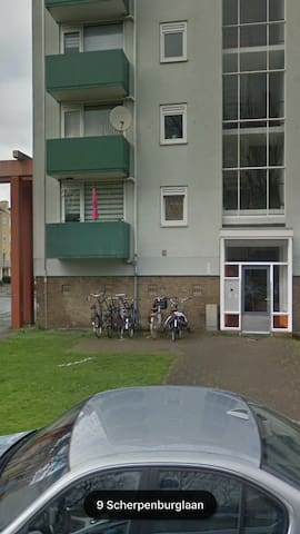 Spacy appartment nearby center Utrecht
