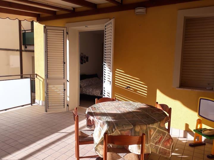 Stupendo Bilocale con Veranda a Rimini Mare