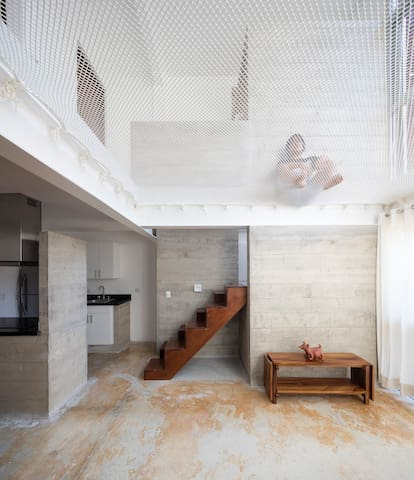 NEW! Amazing Loft with a Built-In Hammock C102B - Tulum - Appartement