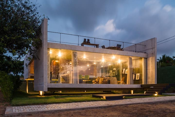 Cool & Design House in Pipa - Tibau do Sul - Rumah
