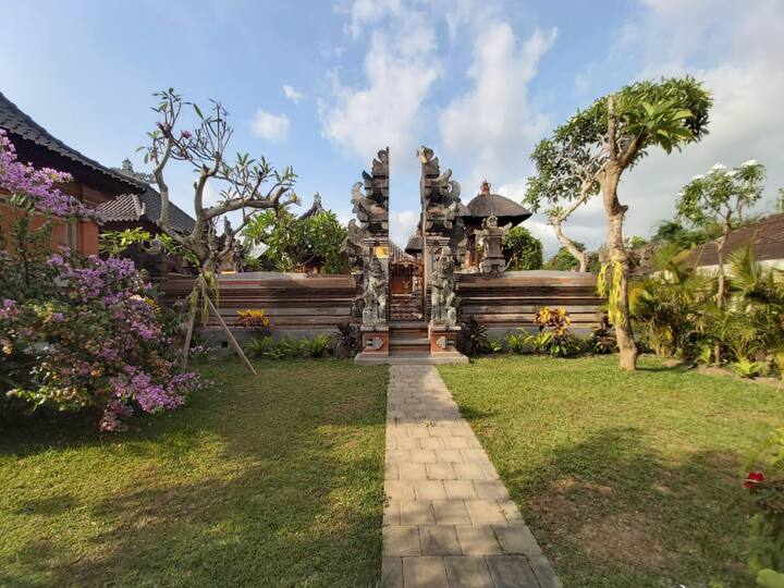 Sahadewa House 3 in Balinese Family compound
