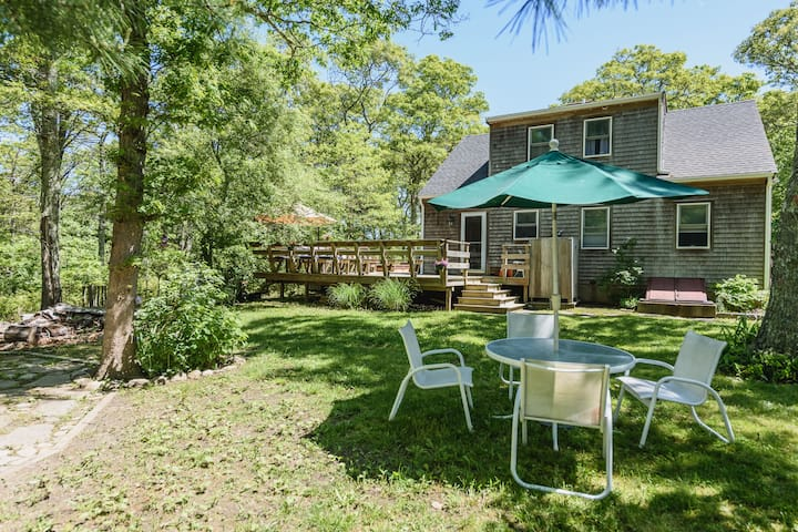 Vineyard Haven Oasis with Central Air