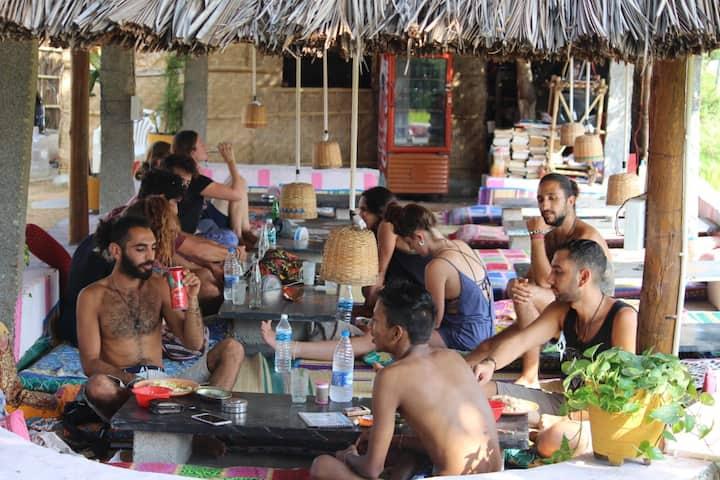 Space Baba Cafe, Natural Resort, Hampi (Cottages)